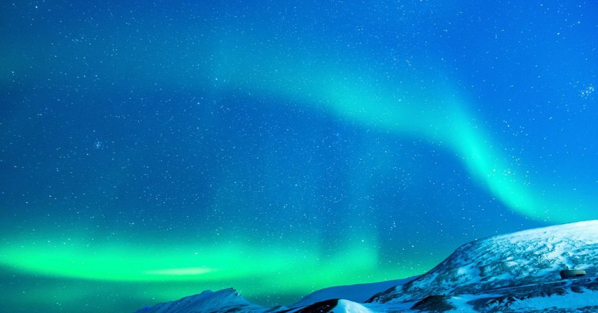 A stunning Svalbard sky | © Noel_Bauza/Pixabay