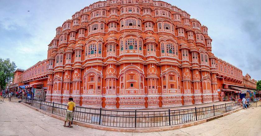 Hawa Mahal,2013/©Firoze Edassery/WikiCommons