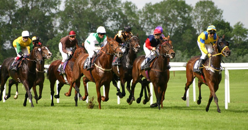 Horse Racing | © Softeis / WikiCommons