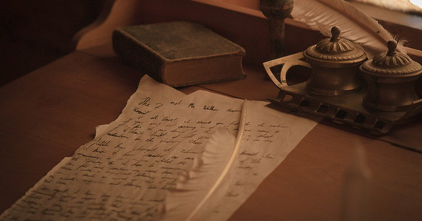 Quill and Inkpot © Jeff Nelson, Flickr