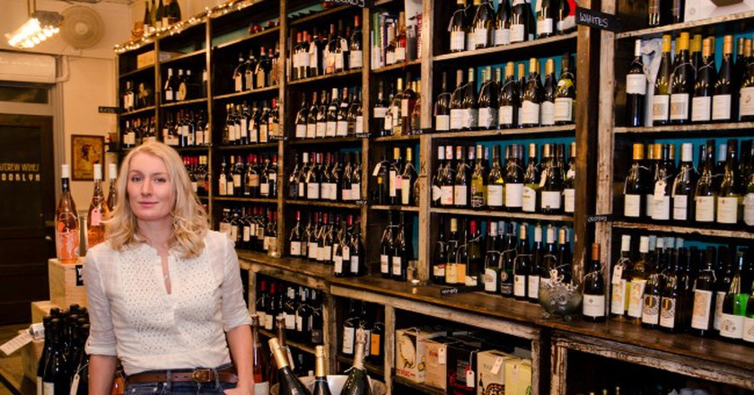 Karin and her store | Courtesy of Corkscrew