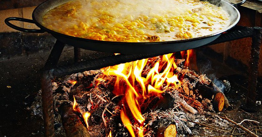 Making paella | © Jan Harenburg / WikiCommons