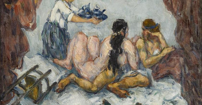 L'Après-Midi à Naples, 1876-1877   © Paul Cézanne
