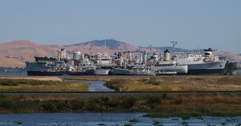 Incredible Facts About The Bay Area's Diminishing Ghost Fleet