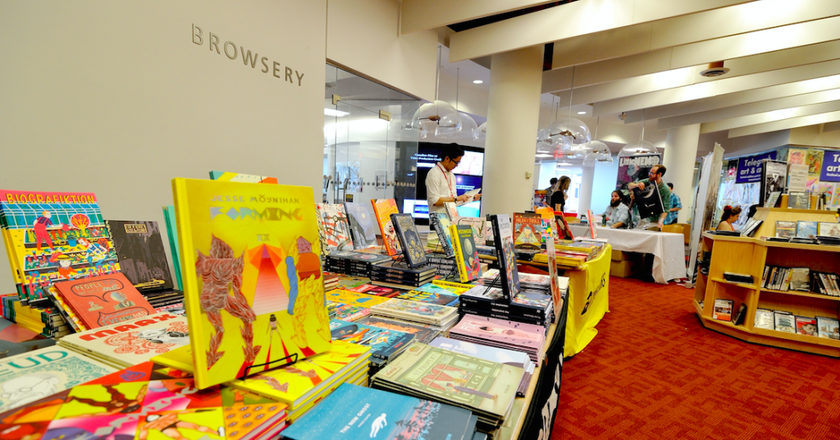 TCAF - by Toronto Public Library | Courtesy of Christopher Butcher, Director of TCAF