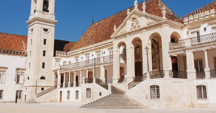 Old university of Coimbra in Portugal | © Olga Meffista/Shutterstock
