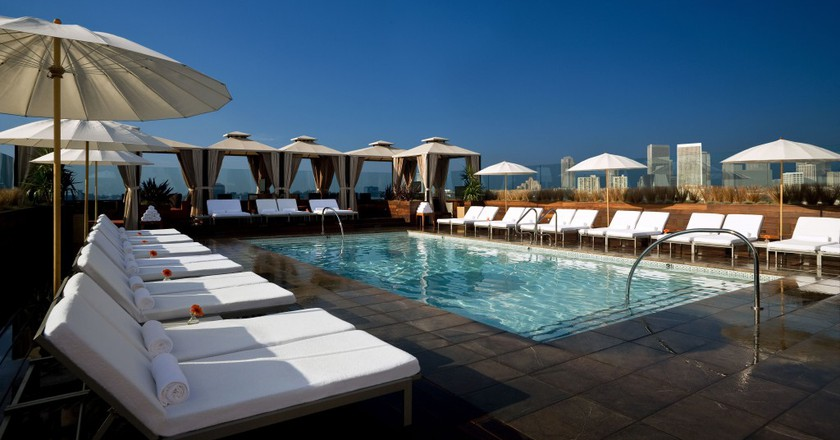 Pool at SIXTY   © Courtesy of SIXTY Beverly Hills