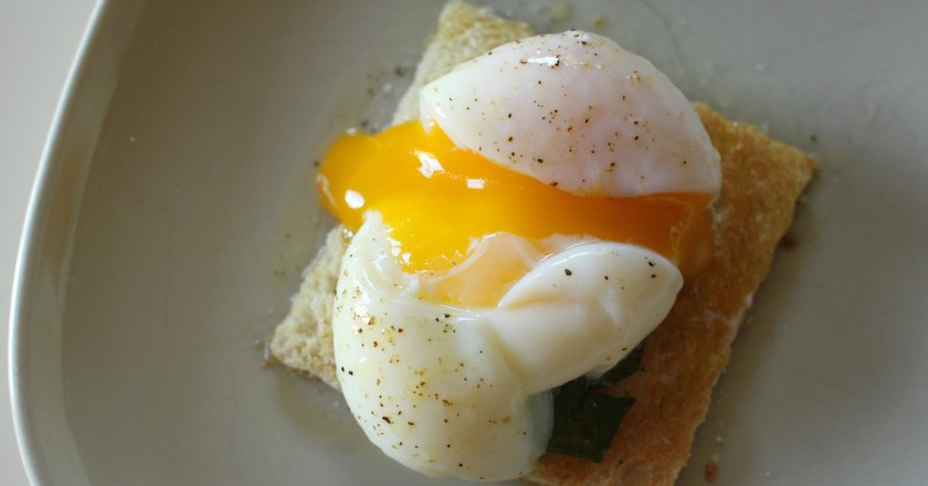 Sous Vide Egg   © Mike McCune/Flickr