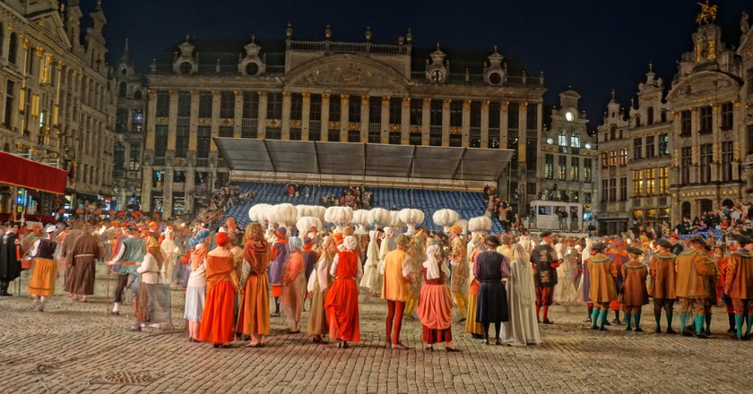 Experience Brussels Folklore At The Ommegang