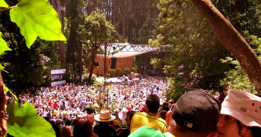 Enjoy Free Outdoor Concerts At Stern Grove Festival