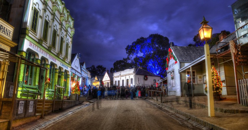 Christmas In July At Sovereign Hill's Winter Wonderlights