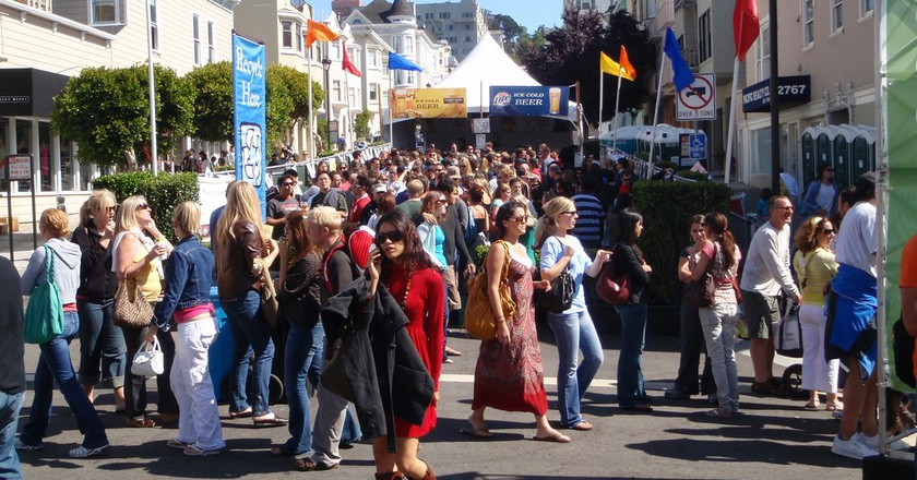 Have A Blast At San Francisco's Union Street Festival