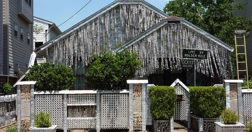 Beer Can House   ©  Clem/Flickr