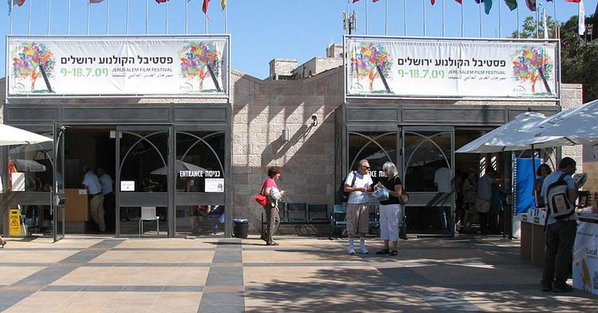 Jerusalem Film Festival 2009, Jerusalem Cinematheque, Courtesy of Gila Brand/WikiCommons