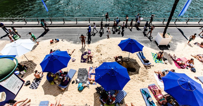 Hit The Beach Without Leaving The City At Paris Plages