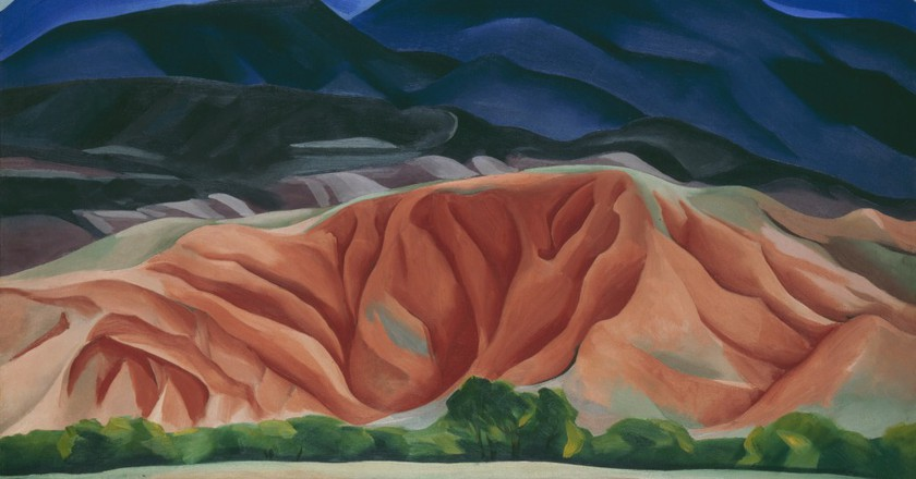 Black Mesa Landscape, New Mexico / Out Back of Marie's II by Georgia O'Keeffe (1930) | Courtesy of Georgia O'Keeffe Museum / DACS, London