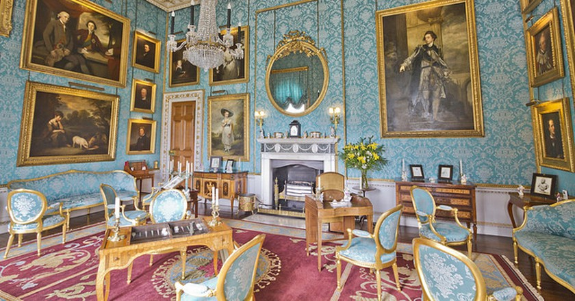 Castle Howard Turquoise Drawing Room   © Michael D Beckwith / Flickr