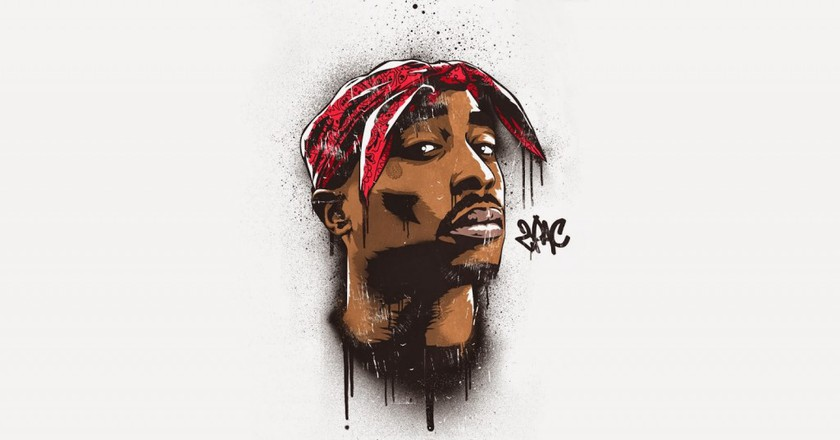 Graffiti Art of Tupac | © 2 Top/Flickr
