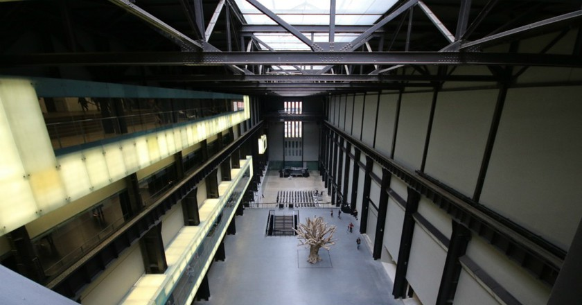 View from bridge on Level 4: Switch House, Tate Modern | © Ellie Griffiths