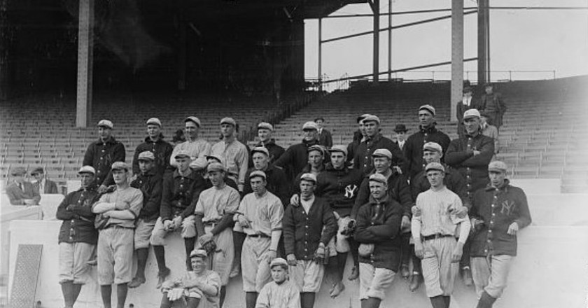 New York Yankees 1913 | © Bain News Service, publisher/WikiCommons