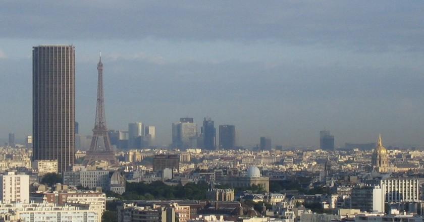 Paris-tours ©Thbz/Wikimedia Commons