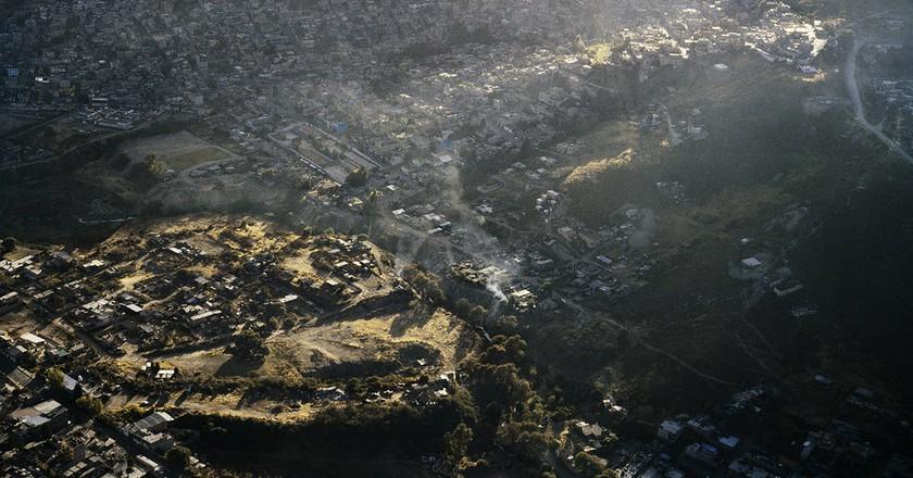 Vista Aerea de la Ciudad de Mexico IV, 2006  ©¨Pablo-Lopez-Luz