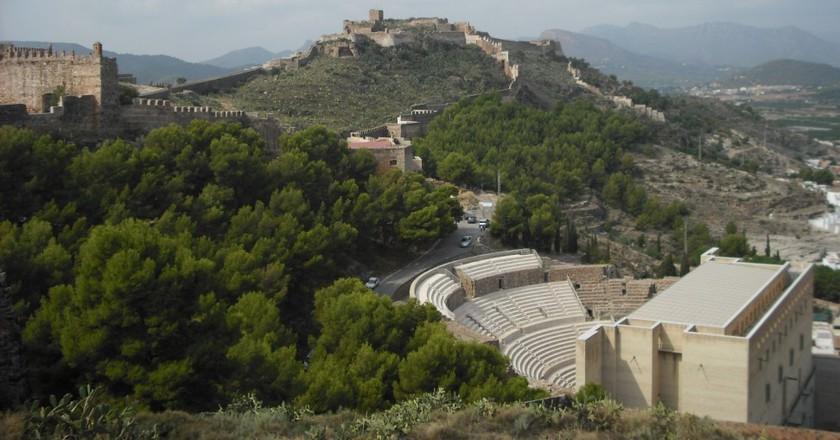 Roman Amphitheatre of Sagunto    ©Enrique Íñiguez Rodríguez/Wikimedia Commons