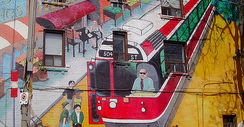 Roncesvalles Mural   © Double Feature/Flickr