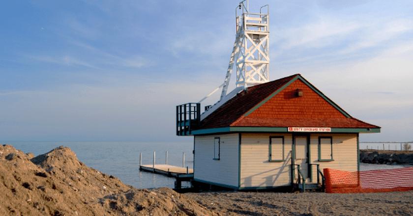 Leuty Lifeguard Station on Kew Beach | © John Vetterli/Wikicommons