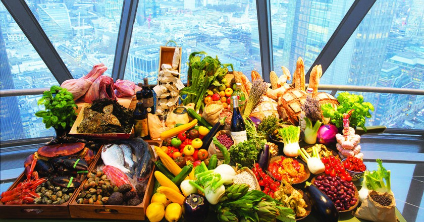 French Riviera at The Gherkin | Courtesy of Searcys