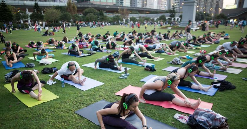 © Photo courtesy of Yoga Room Hong Kong