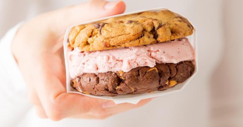 Sprinkles ice cream sandwich | Courtesy of Sprinkles