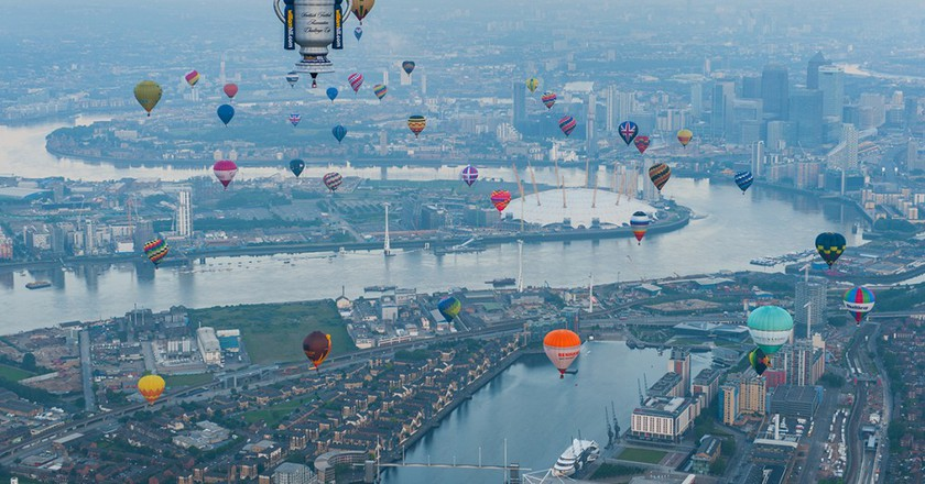 The RICOH Lord Mayor's Hot Air Balloon Regatta 2016 | Courtesy of Exclusive Ballooning