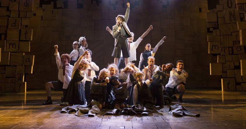 Experience The Magic Of Matilda The Musical