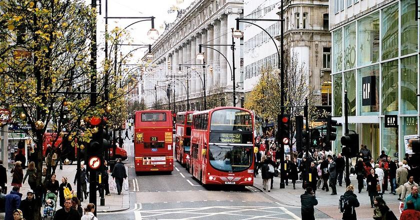 Oxford Street|  © Ysangkok/Wikicommons