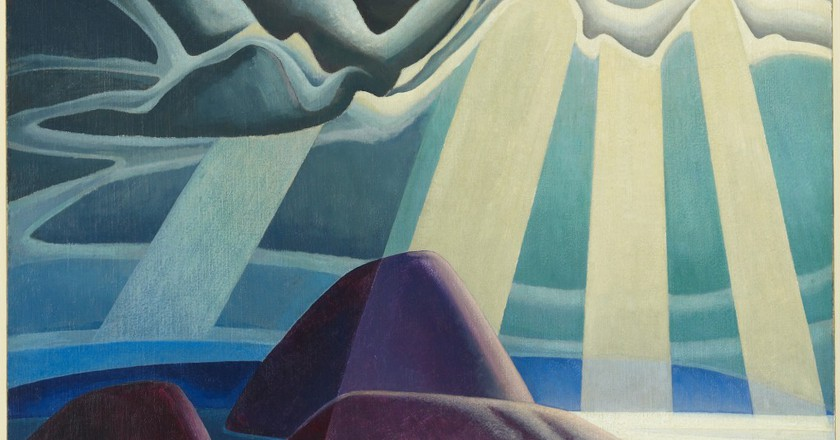 Lawren Harris, 'Lake Superior', 1923, oil on canvas| Courtesy of The AGO