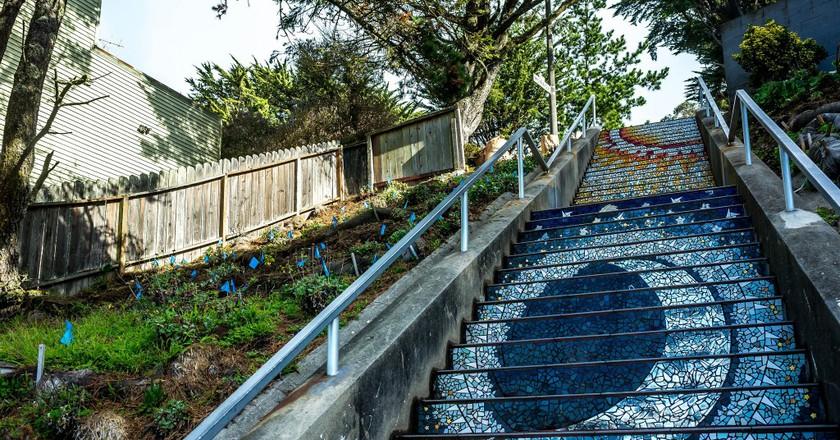 16th Avenue Tiled Steps © sergejf/Flickr