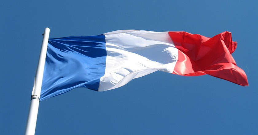 French flag | © francois schnell/Flickr
