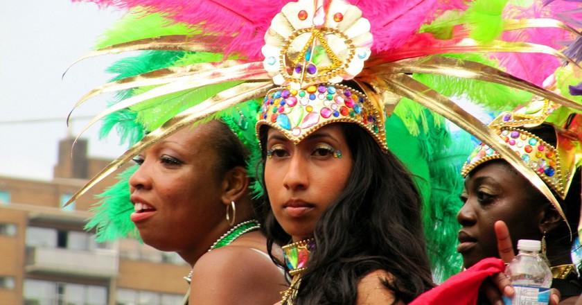 Party At Toronto's Caribbean Carnival