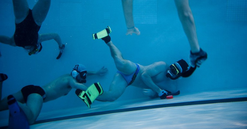Coast Guard Academy Underwater Hockey Team | © US Coast Guard Academy / Flickr
