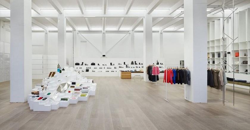 Inside Andreas Murkudis' stunning concept store   © Andreas Murkudis