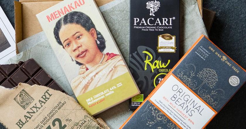 Around The World In Chocolate Bars