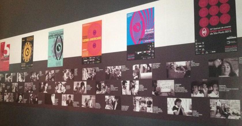 A display of this year's films   Courtesy of Festival de Cinema Latino-Americano de São Paulo
