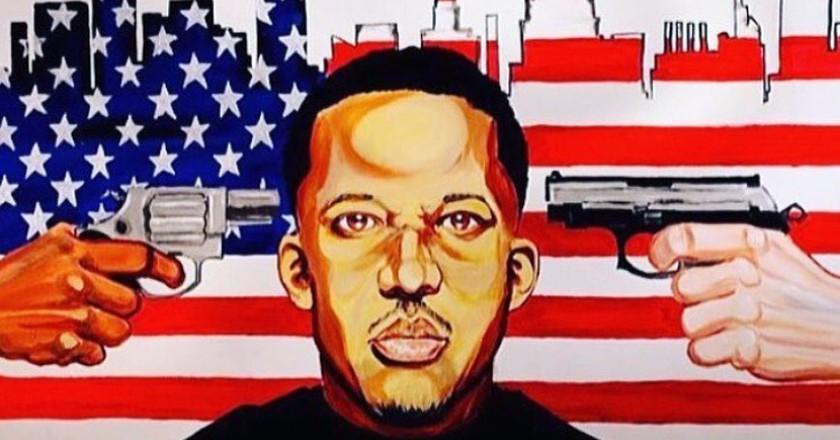 Aaron Maybin   Courtesy of Black Lives Matter