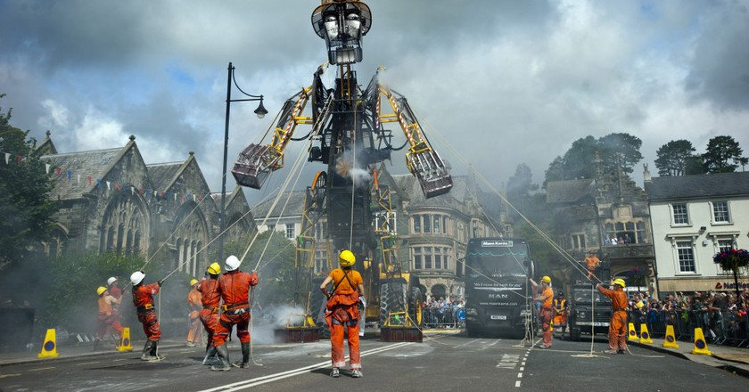 The Man Engine in Tavistock| © Mike Thomas/Excess Energy