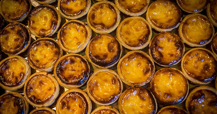 Pastel de nata (September 2015) | © Claude Truong-Ngoc/Wikimedia Commons - cc-by-sa-3.0