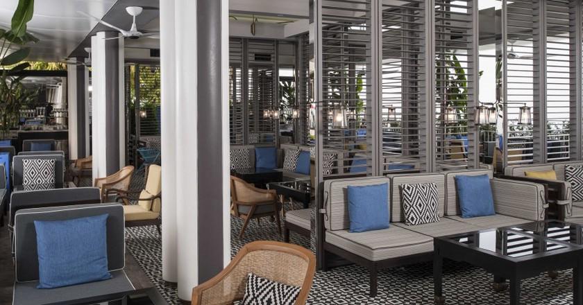 Spago terrace lounge | Courtesy of Marina Bay Sands