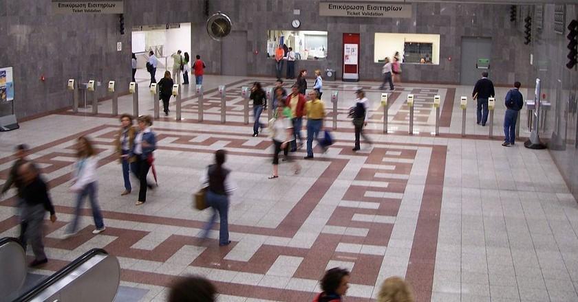Syntagma metro station  | © Badseed/WikiCommons