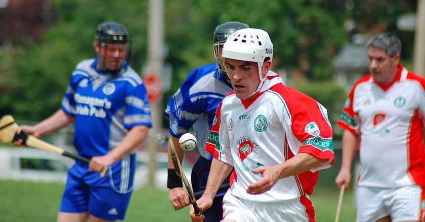 A hurling game  in Philadelphia, USA | ©Jeff Meade/WikiCommons