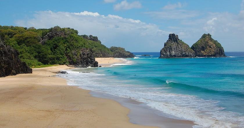 Beach in Fernando de Noronha, north of Brazil | Chronus/WikiCommons